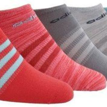 DCCK3SY Adidas Women's Superlite No Show Socks (Pack of 6)