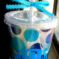 Personalized Tumblers from Country Luxe Boutique on Etsy -ONLY $12- Order now!