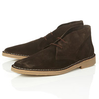 'Nevada' Brown Desert Boots - Desert Boots - Boots - Shoes and Accessories