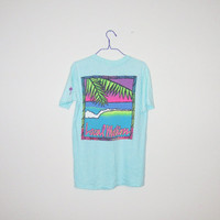 Vintage 80's LOCAL MOTION Hawaii Surf T-Shirt - Size MEDIUM
