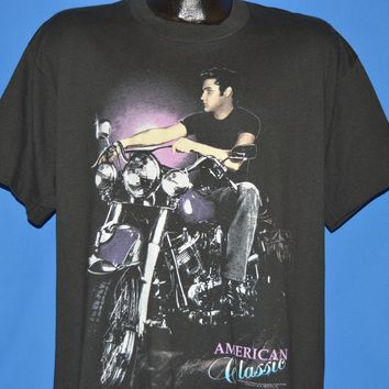 90s Elvis Presley American Classic Motorcycle t-shirt Extra Large