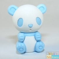Iwako Zoo Animals: New Colour Pale Blue Panda Japanese Eraser Iwako Erasers