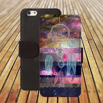 Dream Starry sky iphone 5/ 5s iphone 4/ 4s iPhone 6 6 Plus iphone 5C Wallet Case , iPhone 5 Case, Cover, Cases colorful pattern L040