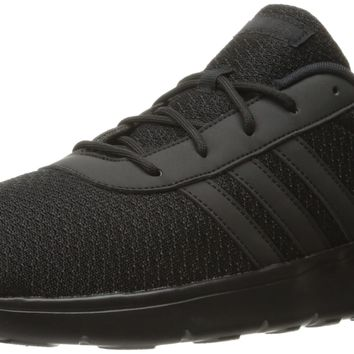 adidas Performance Men's Lite Racer Basketball Shoe Black/Black/Black 8.5 D(M) US '