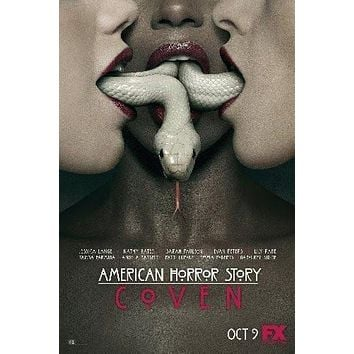 American Horror Story Coven poster Metal Sign Wall Art 8in x 12in