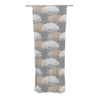 "Julia Grifol ""Charming Tree"" Decorative Sheer Curtain"