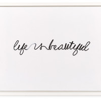Life is Beautiful, Photographs