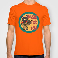 Music for you T-shirt by BATKEI