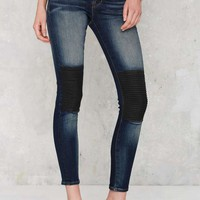 Cult of Individuality Moto the Line Mid Rise Jeans