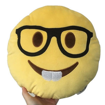 EMOJI NERD PILLOW