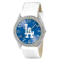 Los Angeles Dodgers MLB Ladies Glitz Series Watch