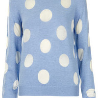 Knitted Sheer Solid Spot Sweat - New In This Week  - New In