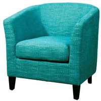 Descanso Fabric Chair TOPAZ BLUE