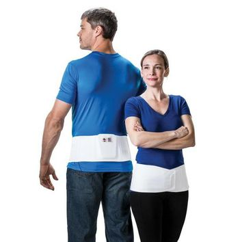 """Elastic Sacral Back Support with Pad 6"""" 