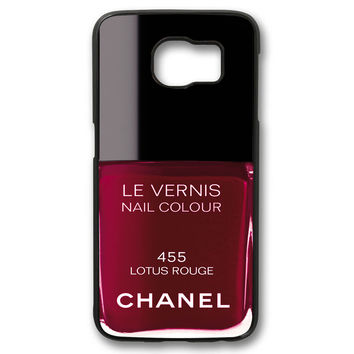 Chanel Nail Polish Lotus Rouge Samsung Galaxy S6 Case
