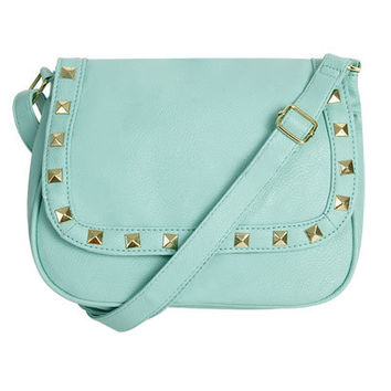 Crystal Punk Crossbody Bag | Shop Junior Clothing at Wet Seal