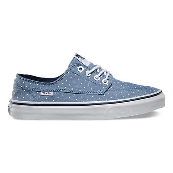 Chambray Dots Brigata Slim | Shop Womens Shoes at Vans
