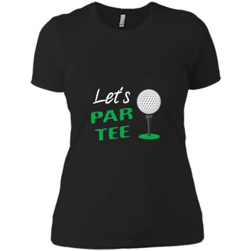 Golf Par Tee Trainer Physical Goal Cheerleader Gift Shirt