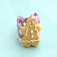 gingerbread cookie ring