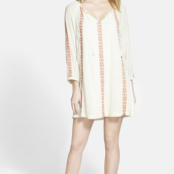 Women's Hinge Embroidered Shift Dress