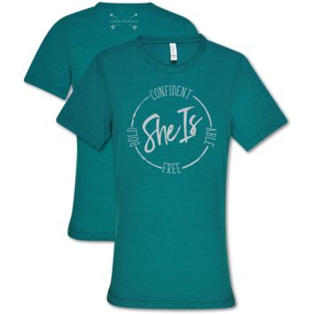 Southern Couture Lightheart She Is T-Shirt