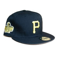 ONETOW New Era 59Fifty Pittsburgh Pirates 1971 World Series SidePatch Fitted In Black