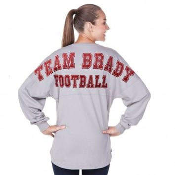 Brady Football - Tom Brady NFL Fan ❤ - Classic Spirit Jersey®