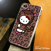 Hello Kitty Chocolate iPhone 4 5 5c 6 Plus Case, Samsung Galaxy S3 S4 S5 Note 3 4 Case, iPod 4 5 Case, HtC One M7 M8 and Nexus Case