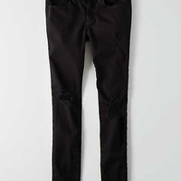 AEO Twill X Jegging , Black