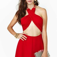 Nasty Gal Fire It Up Dress