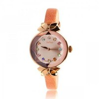 ThreeDimensional Mirror Surface Crystal Watch