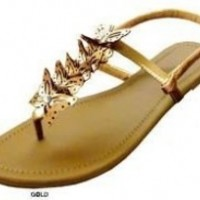Womens Roman Gladiator Butterfly Sandals flats 6 Colors