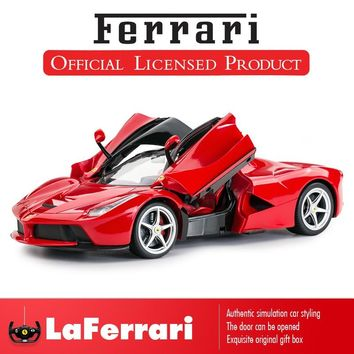 Rastar Ferrari RC Car 1:14 LaFerrari Remote Control Toys Car Enzo Officially Licensed Toys for Boys with Original Box Kids Gift