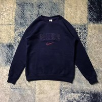 NIKE LAB Round Neck Top Sweater Pullover Sweatshirt