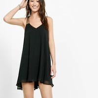 Strappy Back Trapeze Dress from EXPRESS