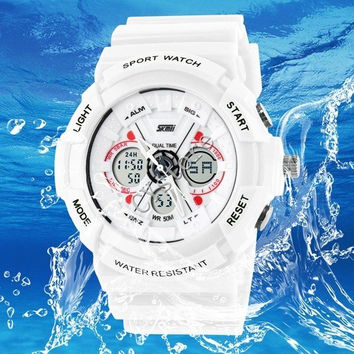 Fashion Outdoor Sports Watch Dual Time Waterproof Hiking Multifunction Men's Watches Casual Watches = 1956923908
