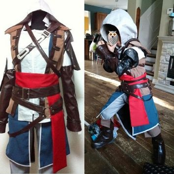 assassin's creed ezio cosplay assassins creed cosplay halloween costume for kids syndicate unity assassin creed clothing connor