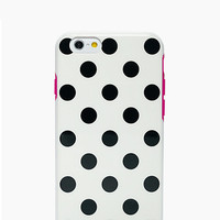 Kate Spade Le Pavillion Iphone 6 Plus Case White/Black/Pink ONE