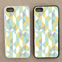 Cute Abstract Geometric Pattern iPhone Case, iPhone 5 Case, iPhone 4S Case, iPhone 4 Case - SKU: 161