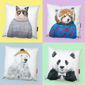 Animal Cushions at Firebox.com
