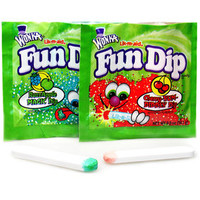 Wonka Fun Dip Candy Packs -Small: 48-Piece Box | CandyWarehouse.com Online Candy Store