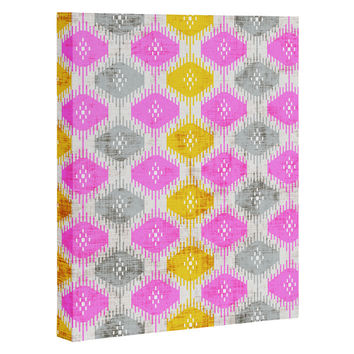 Holli Zollinger Diamond Ikat Art Canvas