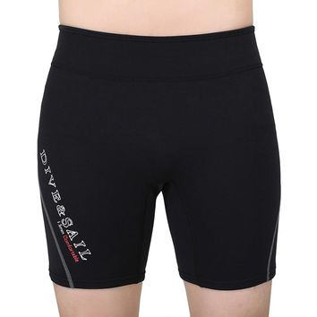 1.5MM Neoprene Diving Shorts Wetsuit Short Pants For Men Or Women Winter Swimming Rowing Sailing Surfing Warm