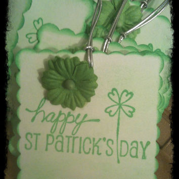 St Pattys Day Four Leaf Clover Shamrock Luck of by alohacookiegirl