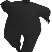 Inflatable Adult Chub Suit Costume (Black)