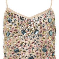 Jewel Embellished Cami Top