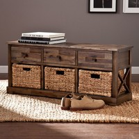Kivlen Storage Bench (Brown)