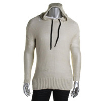 RDI Mens Knit Long Sleeves Hooded Sweater