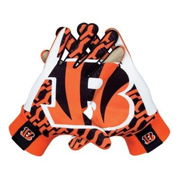 Nike Cincinnati Bengals Stadium Gloves - Orange