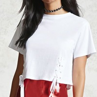 Double Lace-Up Tee